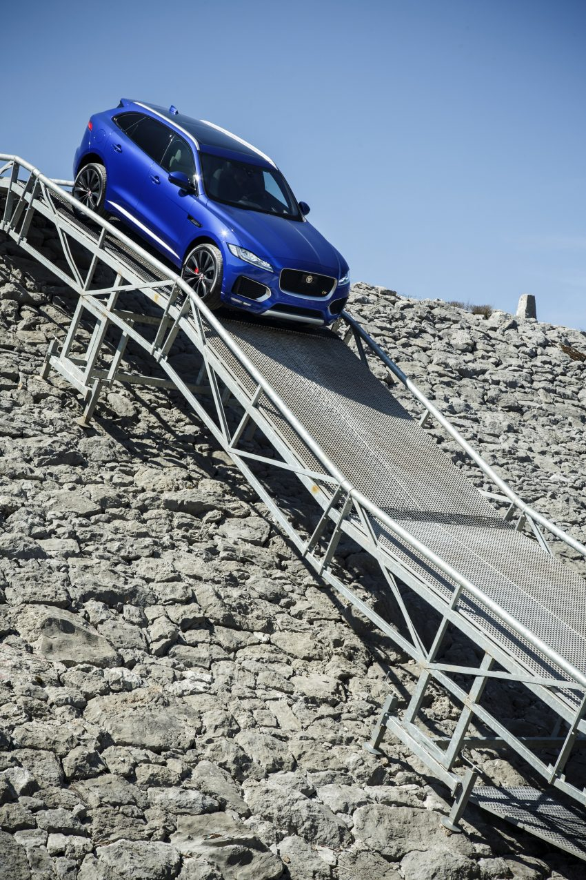 DRIVEN: Jaguar F-Pace – a go-anywhere Leaping Cat Image #496886