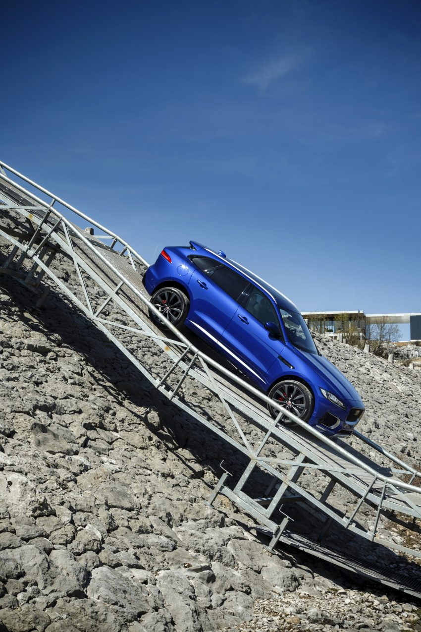 DRIVEN: Jaguar F-Pace – a go-anywhere Leaping Cat Image #496888