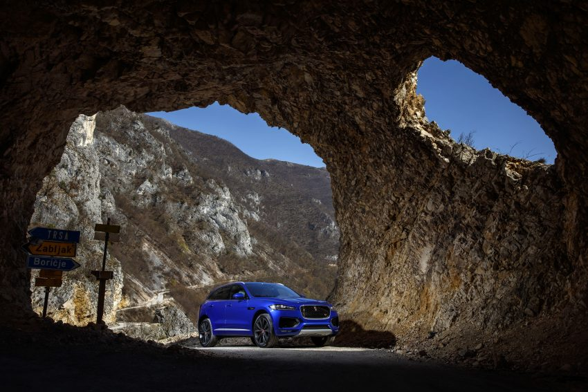 DRIVEN: Jaguar F-Pace – a go-anywhere Leaping Cat Image #496892