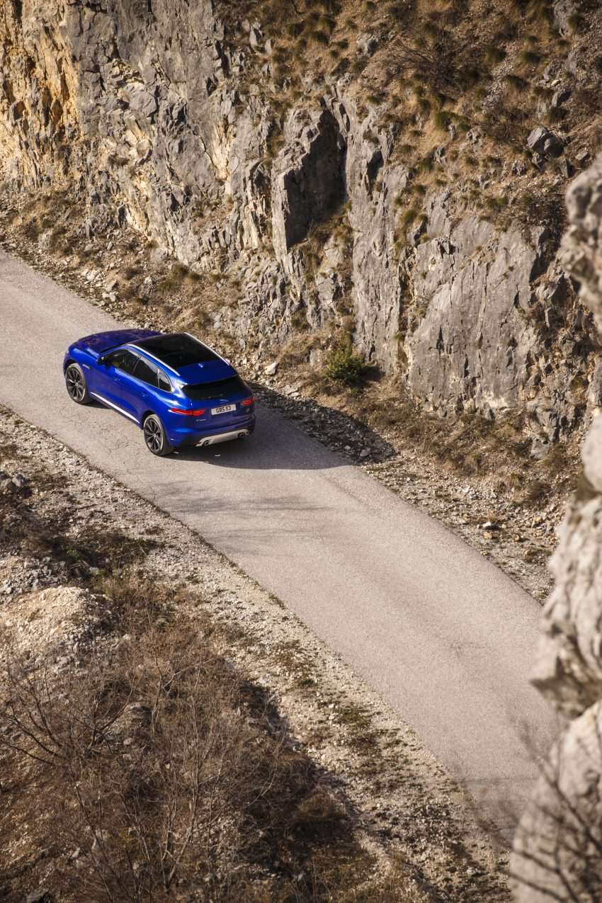 DRIVEN: Jaguar F-Pace – a go-anywhere Leaping Cat Image #496898