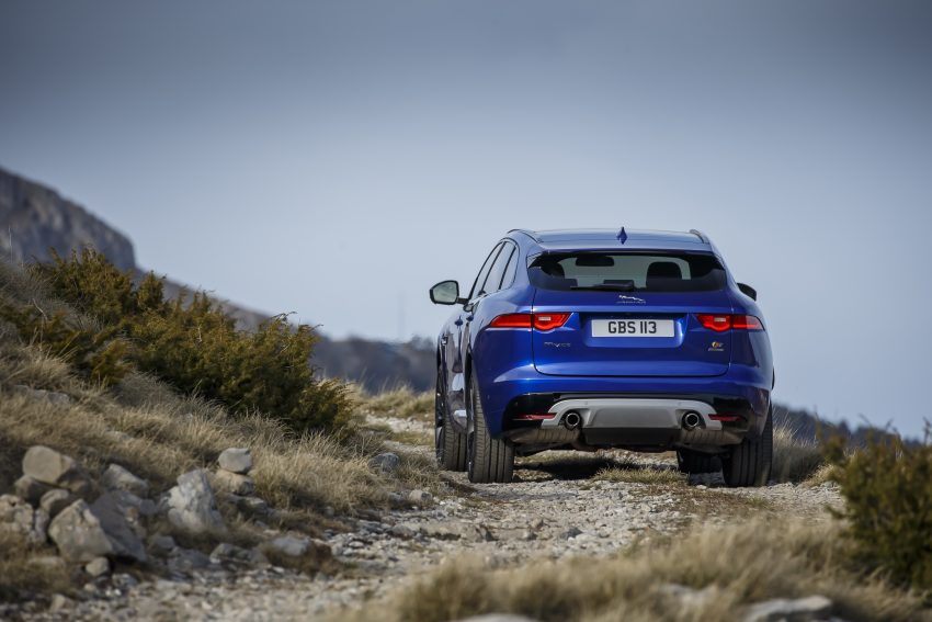 DRIVEN: Jaguar F-Pace – a go-anywhere Leaping Cat Image #496958