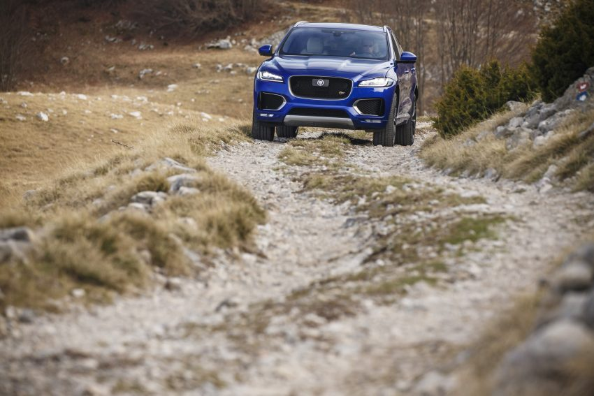 DRIVEN: Jaguar F-Pace – a go-anywhere Leaping Cat Image #496963