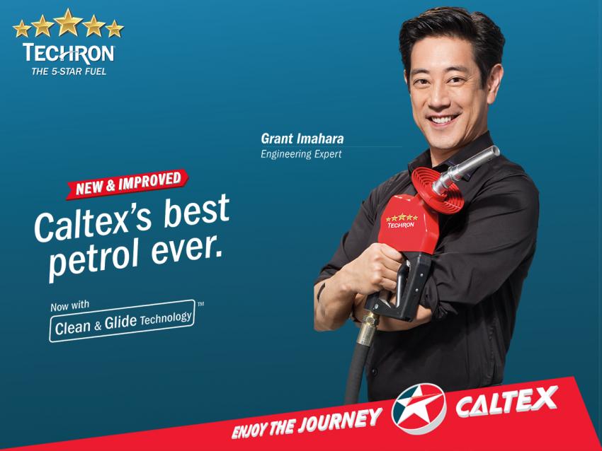 Caltex lancar petrol Techron RON 95 dan 97 baharu dengan teknologi 'Clean and Glide', 3% lebih ekonomi Image #488944