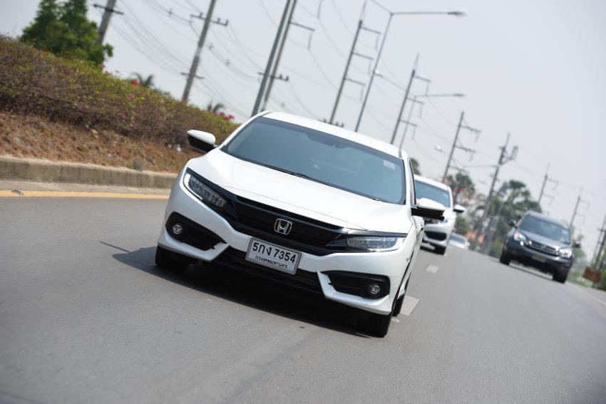 PANDU UJI: Honda Civic 1.8 dan 1.5 VTEC Turbo 2016 – peningkatan bagi gen-10 yang lebih memuaskan? Image #492375