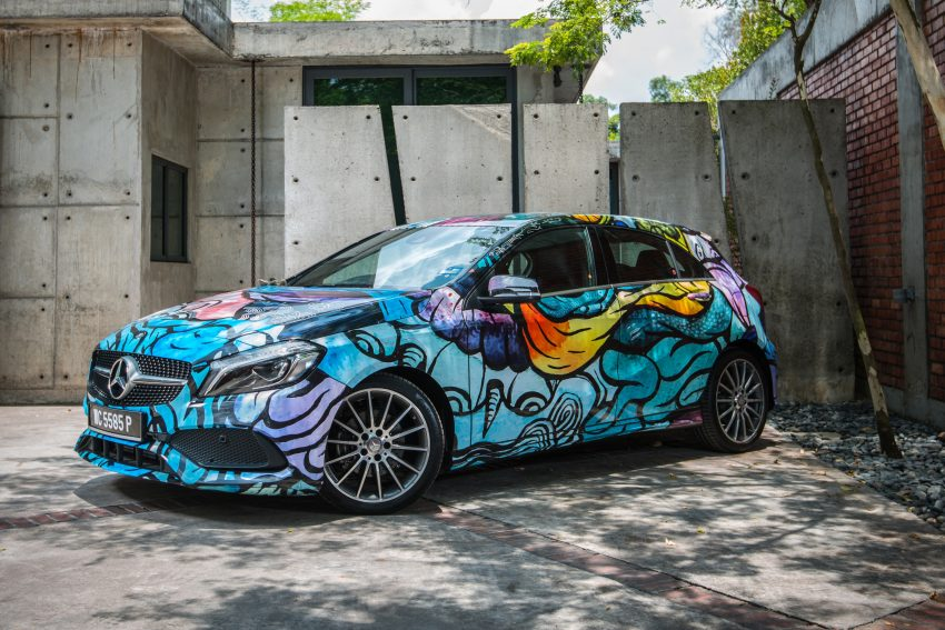 Mercedes-Benz A200 art cars to be displayed at KLPac Image #491162
