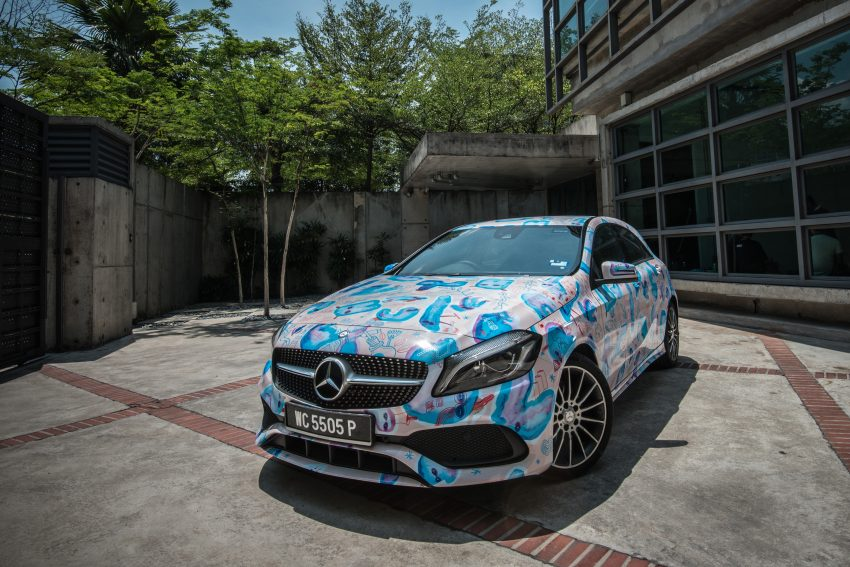 Mercedes-Benz A200 art cars to be displayed at KLPac Image #491167