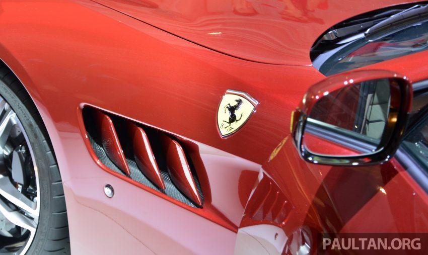 Ferrari GTC4Lusso buat penampilan sulung peringkat Asia Timur dan prebiu untuk ASEAN di Jepun Image #491710