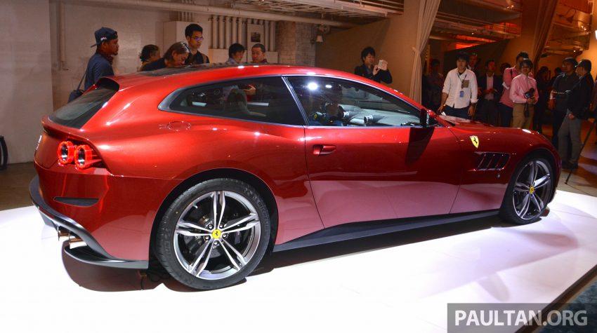 Ferrari GTC4Lusso buat penampilan sulung peringkat Asia Timur dan prebiu untuk ASEAN di Jepun Image #491711