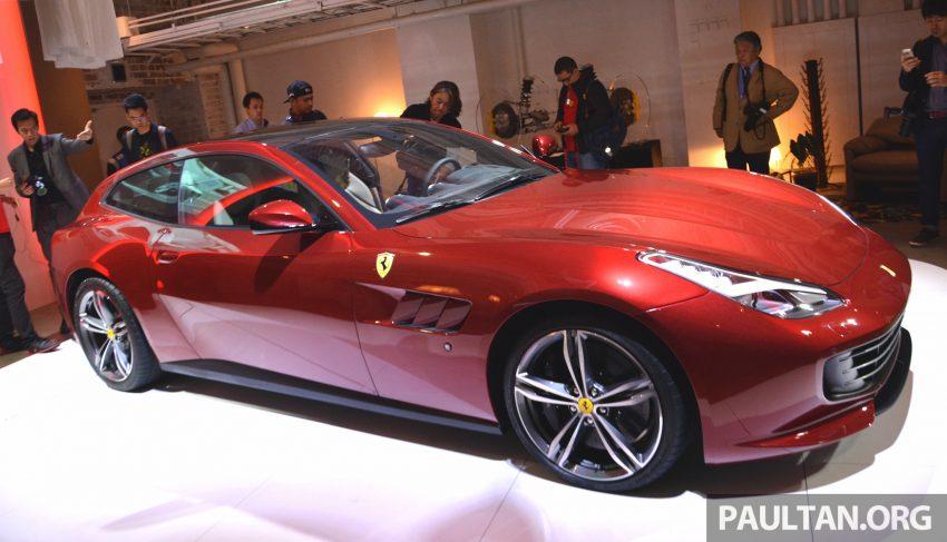 Ferrari GTC4Lusso buat penampilan sulung peringkat Asia Timur dan prebiu untuk ASEAN di Jepun Image #491712
