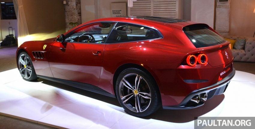 Ferrari GTC4Lusso buat penampilan sulung peringkat Asia Timur dan prebiu untuk ASEAN di Jepun Image #491734