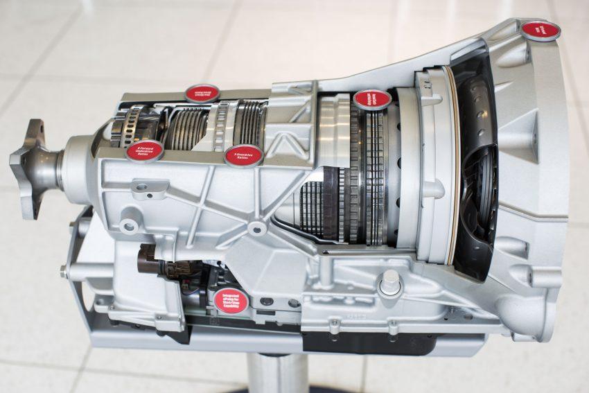 Enjin V6 3.5 liter EcoBoost dan kotak gear automatik 10-kelajuan baharu bakal memacu trak Ford F-150 2017 Image #487857