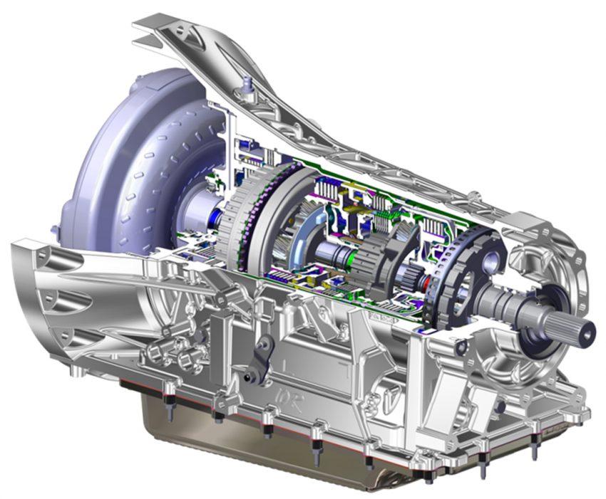 Enjin V6 3.5 liter EcoBoost dan kotak gear automatik 10-kelajuan baharu bakal memacu trak Ford F-150 2017 Image #487859