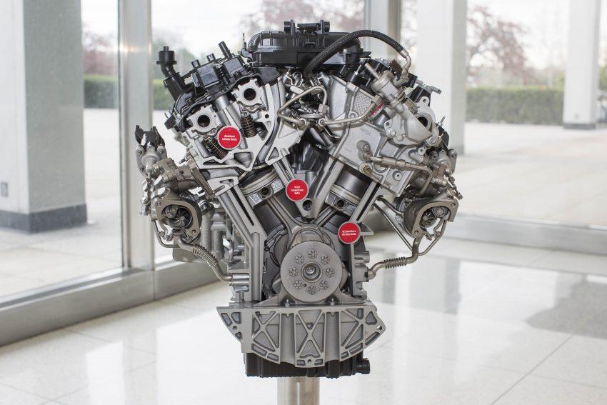 Enjin V6 3.5 liter EcoBoost dan kotak gear automatik 10-kelajuan baharu bakal memacu trak Ford F-150 2017 Image #487861