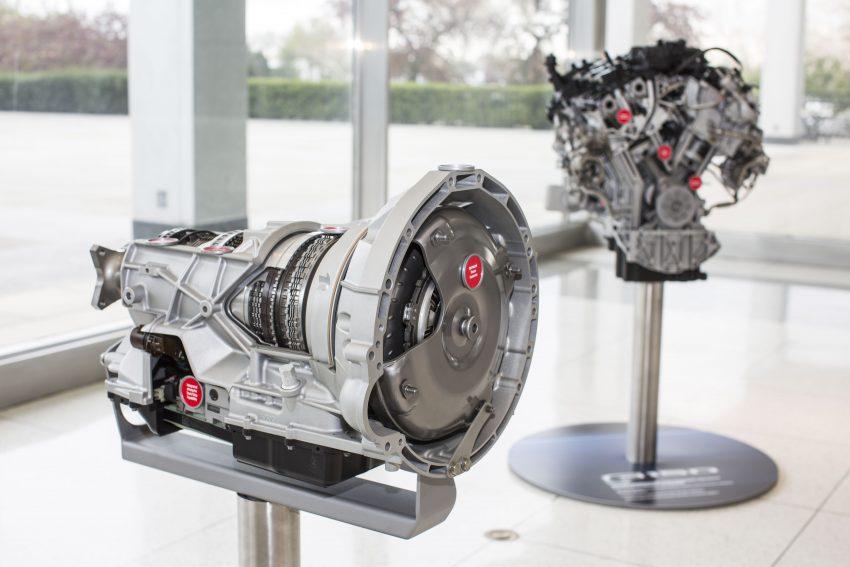 Enjin V6 3.5 liter EcoBoost dan kotak gear automatik 10-kelajuan baharu bakal memacu trak Ford F-150 2017 Image #487853