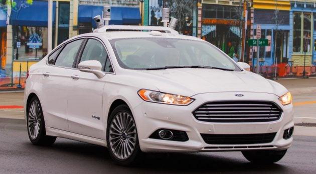 Ford Fusion Hybrid autonomous-01
