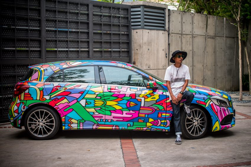 Mercedes-Benz A200 art cars to be displayed at KLPac Image #491177