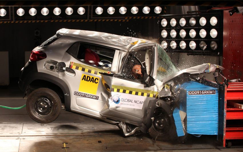 Global NCAP tests five new Indian cars – all zero star! Image #494327