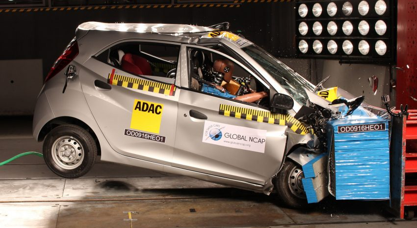 Global NCAP tests five new Indian cars – all zero star! Image #494298