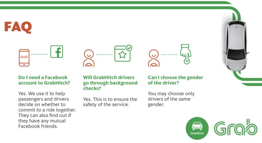 GrabHitch launched in M'sia – new carpooling service Image #488909