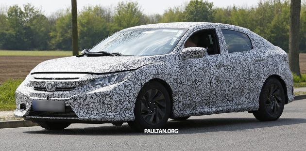 Honda Civic Hatchback prototype 10