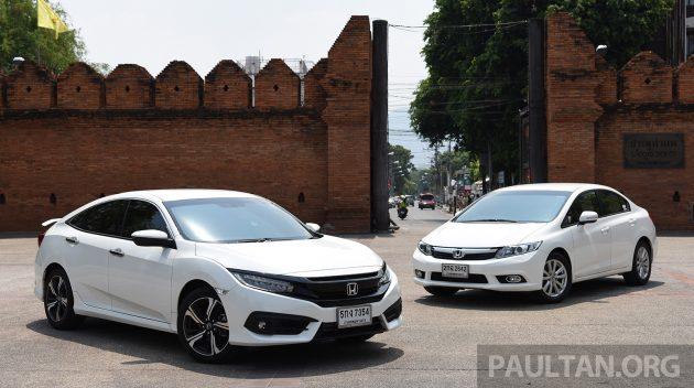 Honda Civic New vs Old 1