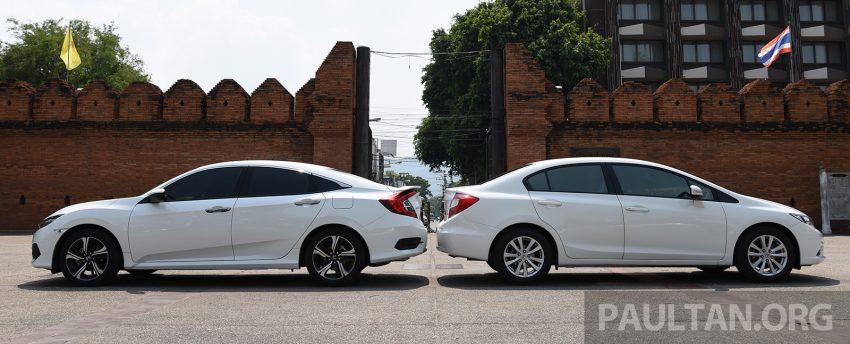 GALERI: Honda Civic – gen-10 FC vs gen-9 FB Image #493144