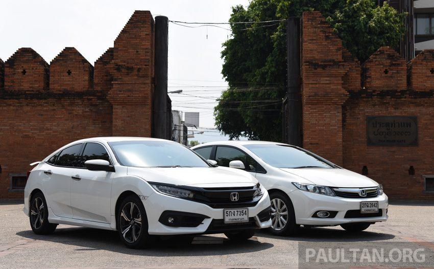 GALERI: Honda Civic – gen-10 FC vs gen-9 FB Image #493145