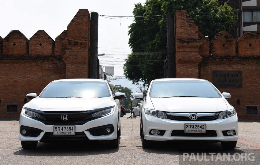 GALERI: Honda Civic – gen-10 FC vs gen-9 FB Image #493146