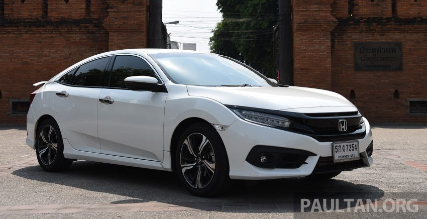 GALERI: Honda Civic – gen-10 FC vs gen-9 FB Image #493147