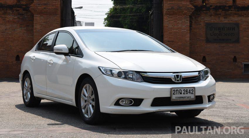 GALERI: Honda Civic – gen-10 FC vs gen-9 FB Image #493148