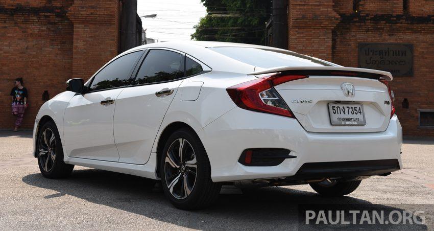 GALERI: Honda Civic – gen-10 FC vs gen-9 FB Image #493149