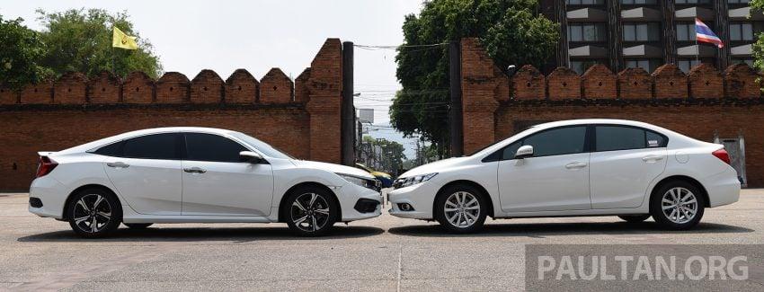 GALERI: Honda Civic – gen-10 FC vs gen-9 FB Image #493137
