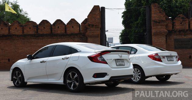 Honda Civic New vs Old 5