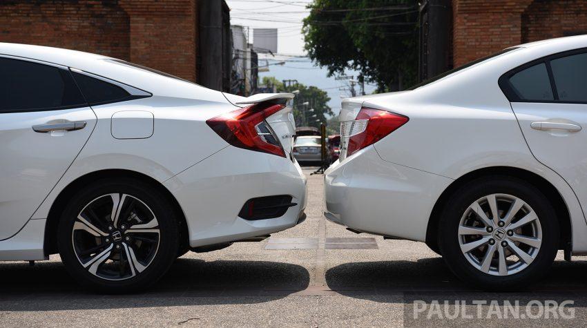 GALERI: Honda Civic – gen-10 FC vs gen-9 FB Image #493140