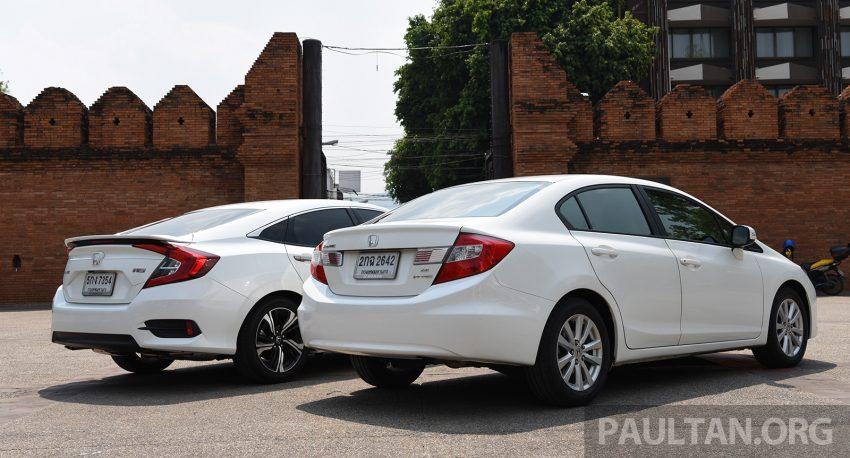 GALERI: Honda Civic – gen-10 FC vs gen-9 FB Image #493141