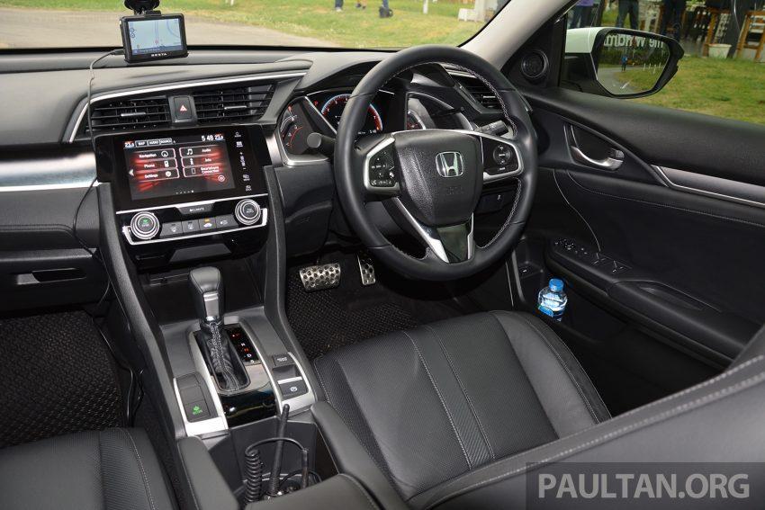 DRIVEN: 2016 FC Honda Civic 1.8L, 1.5L VTEC Turbo Image #490636