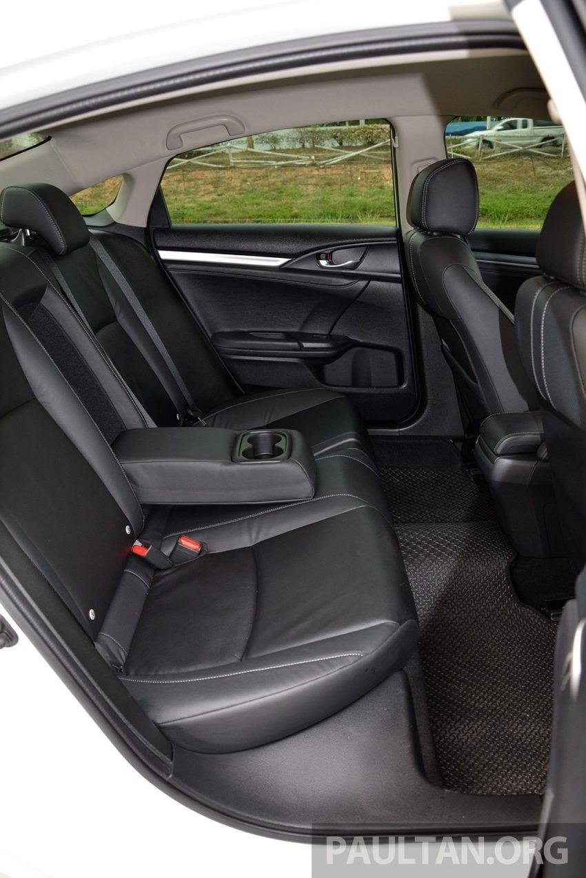 PANDU UJI: Honda Civic 1.8 dan 1.5 VTEC Turbo 2016 – peningkatan bagi gen-10 yang lebih memuaskan? Image #490849