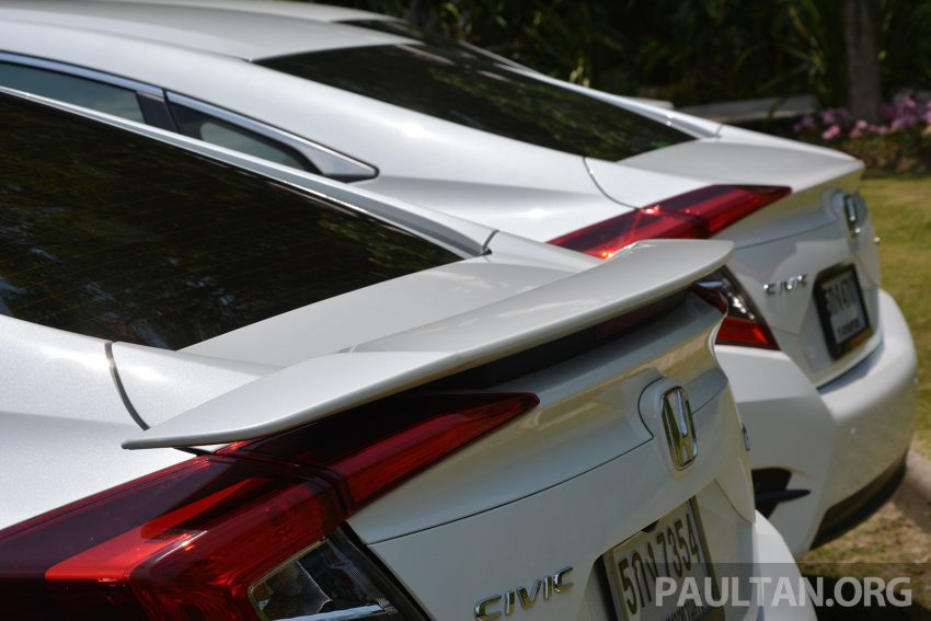 PANDU UJI: Honda Civic 1.8 dan 1.5 VTEC Turbo 2016 – peningkatan bagi gen-10 yang lebih memuaskan? Image #490862
