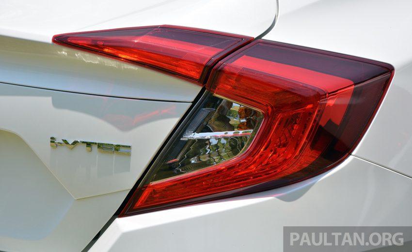 DRIVEN: 2016 FC Honda Civic 1.8L, 1.5L VTEC Turbo Image #490662
