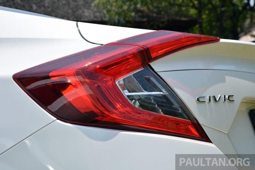 PANDU UJI: Honda Civic 1.8 dan 1.5 VTEC Turbo 2016 – peningkatan bagi gen-10 yang lebih memuaskan? Image #490864