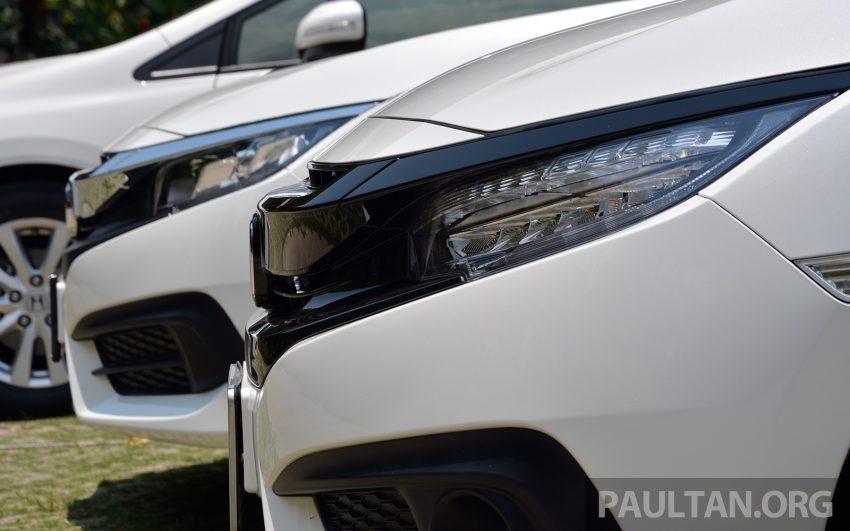 PANDU UJI: Honda Civic 1.8 dan 1.5 VTEC Turbo 2016 – peningkatan bagi gen-10 yang lebih memuaskan? Image #490867