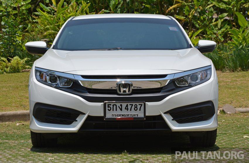 DRIVEN: 2016 FC Honda Civic 1.8L, 1.5L VTEC Turbo Image #490672