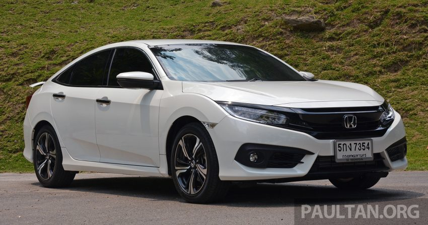 DRIVEN: 2016 FC Honda Civic 1.8L, 1.5L VTEC Turbo Image #490675
