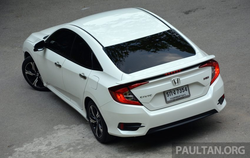 PANDU UJI: Honda Civic 1.8 dan 1.5 VTEC Turbo 2016 – peningkatan bagi gen-10 yang lebih memuaskan? Image #490877