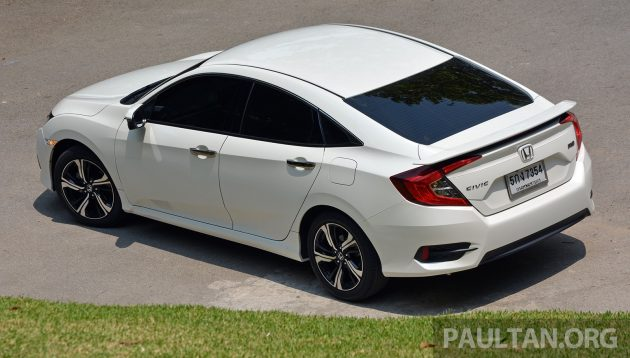 Honda Civic Thai Review 52