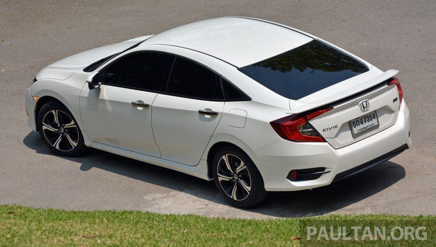 DRIVEN: 2016 FC Honda Civic 1.8L, 1.5L VTEC Turbo Image #490678