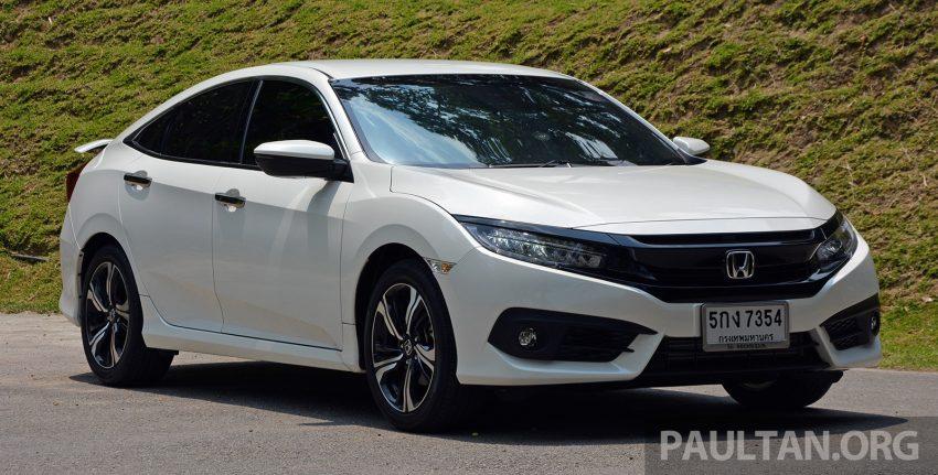 PANDU UJI: Honda Civic 1.8 dan 1.5 VTEC Turbo 2016 – peningkatan bagi gen-10 yang lebih memuaskan? Image #490881