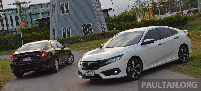 PANDU UJI: Honda Civic 1.8 dan 1.5 VTEC Turbo 2016 – peningkatan bagi gen-10 yang lebih memuaskan? Image #490883