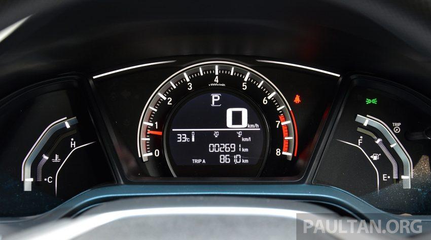 PANDU UJI: Honda Civic 1.8 dan 1.5 VTEC Turbo 2016 – peningkatan bagi gen-10 yang lebih memuaskan? Image #490890