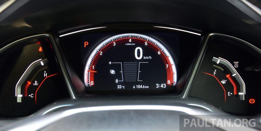 PANDU UJI: Honda Civic 1.8 dan 1.5 VTEC Turbo 2016 – peningkatan bagi gen-10 yang lebih memuaskan? Image #490892